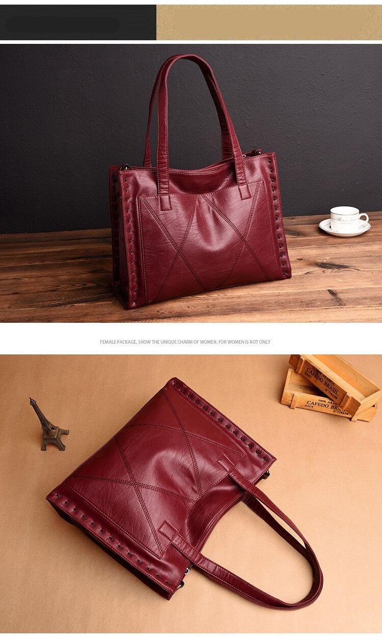 Haute qualité en cuir véritable femmes sacs à main de mode femmes fourre-tout sacs femmes Messenger sacs dames sac à bandoulière femmes sac à main